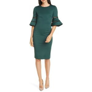 NWT Ted Baker London Filnio Bell Sleeve Dress